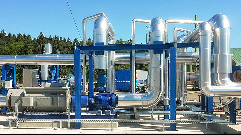 Projekt Anlage Rohre